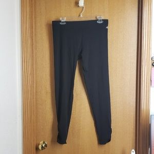 Wmn's NordicTrack Ruched Capri Leggings Sz L